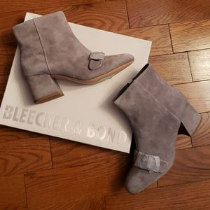 BLEECKER & BOND booties. NWT
